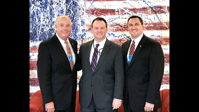 Mayor Boswell, Communications Director attend meeting at White House with Presidential staff member