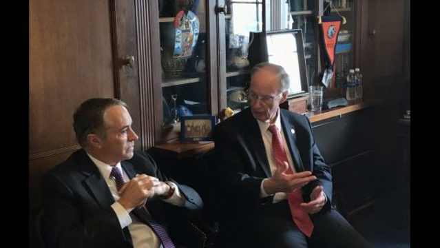 Governor Bentley, Legislators in Washington Ahead of Expected Vote on Health Care Bill