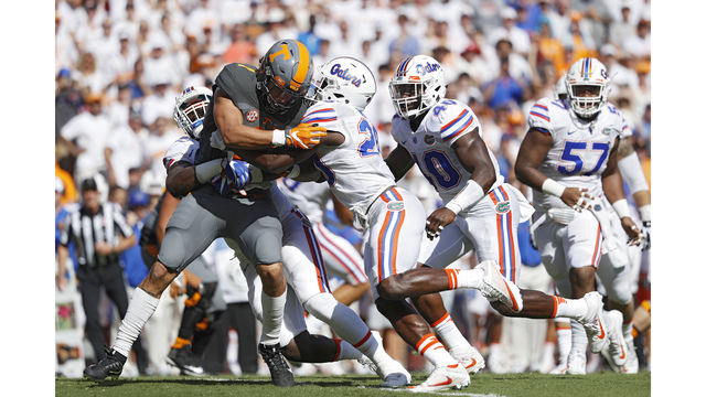 Florida considered moving football game to Auburn to avoid Hurricane Irma