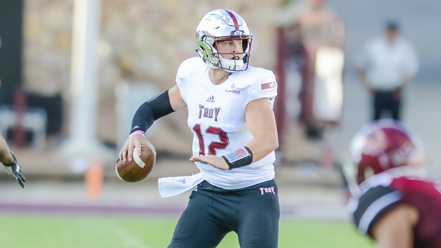 Troy's Brandon Silvers Named Sun Belt Offensive Player of the Week