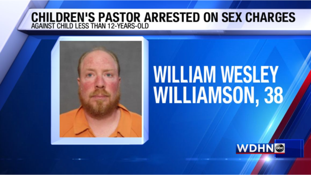 Children's pastor arrested on sex charges