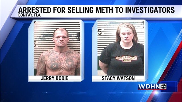Bonifay residents caught selling meth to investigators, officials say