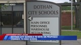 Dothan City Schools to vote on new high school name, mascot