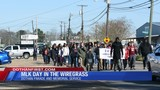 MLK Day marches across the Wiregrass