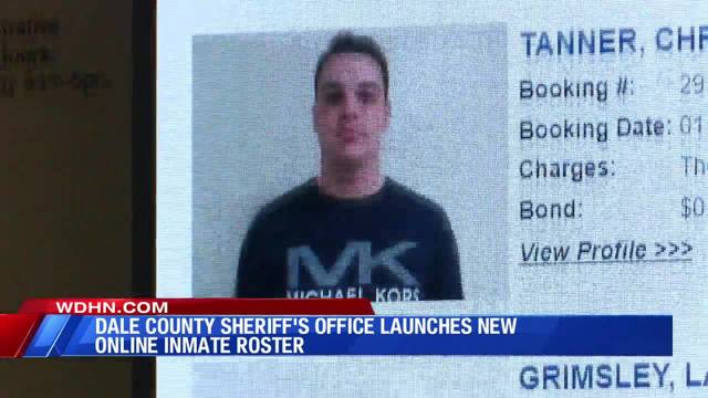 Dale County Sheriff's Office roster returns
