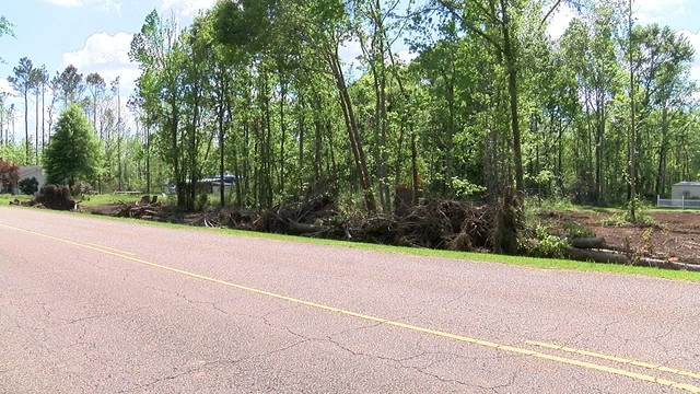 Resident faces hurricane debris removal issues